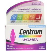 Centrum Women Multi-Vitamin Tablets Pack of 30 Multivitamin