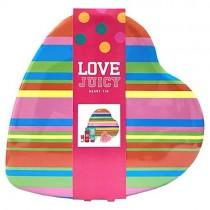 Love Juicy Heart Tin